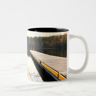 Mayo Lake Boat Dock Mug