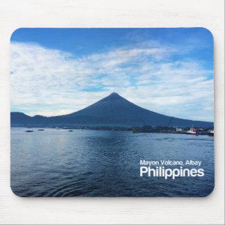 Mayon Volcano Albay Philippines Mousepad