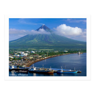 Mayon Volcano, Its Perfect Cone Postcard