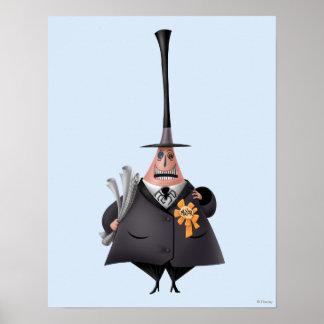 Mayor of Halloween Town 1 Poster