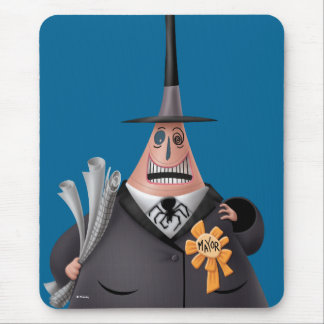 Mayor Of Halloween Town | Smiling Face Mouse Pad