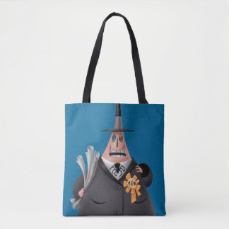 Mayor Of Halloween Town | Smiling Face Tote Bag