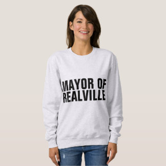MAYOR OF REALVILLE funny T-shirts