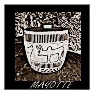 MAYOTTE ART POSTER