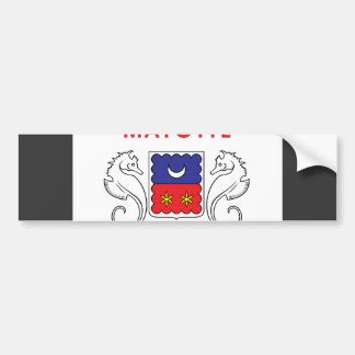Mayotte Flag Bumper Sticker