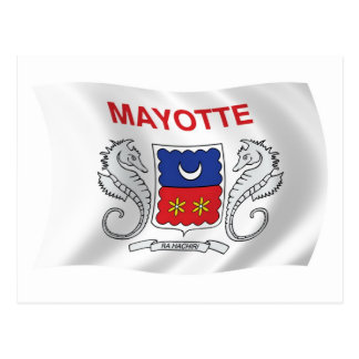 Mayotte Flag Postcard