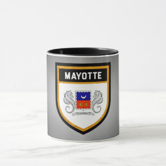 Mayotte Flag unique modern cool texture col Mug