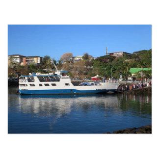 Mayotte - Large Ground - Mamoudzou Final Ferry Postcard