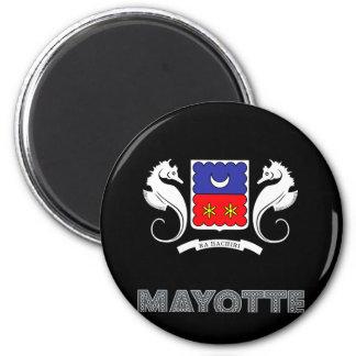Mayottian Emblem Magnet