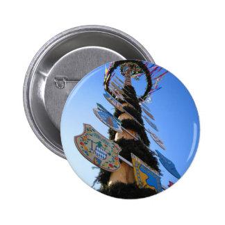 Maypole #4 2 inch round button