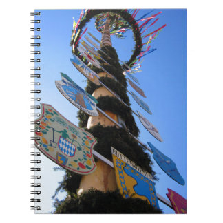 Maypole #4 spiral notebooks