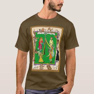 Maypole, Medieval Fayre T-Shirt