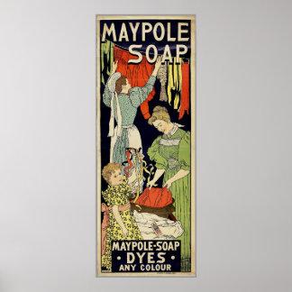 Maypole Soap Poster