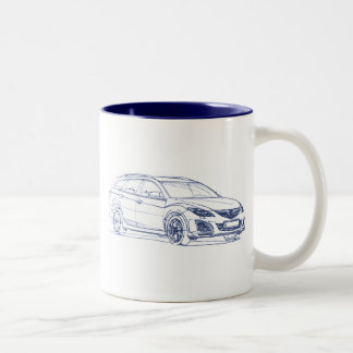 Maz 6 Wagon 2011 Two-Tone Coffee Mug
