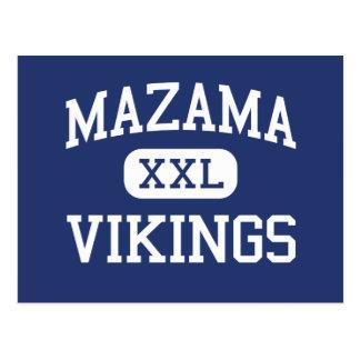 Mazama - Vikings - High - Klamath Falls Oregon Postcard