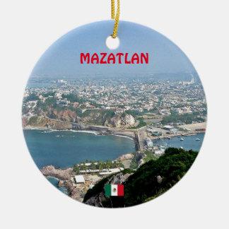 Mazatlan Mexico Custom Christmas Ornament