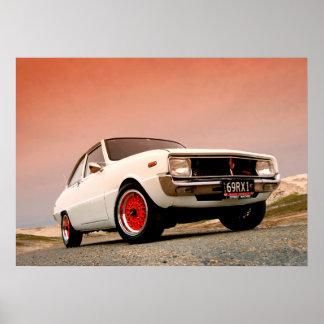 Mazda R100 Vintage Japanese performance Poster