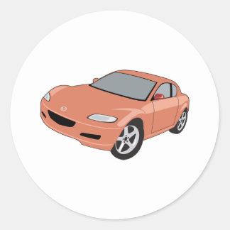 Mazda Round Sticker