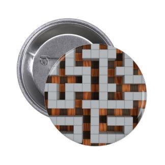Maze-33r 2 Inch Round Button