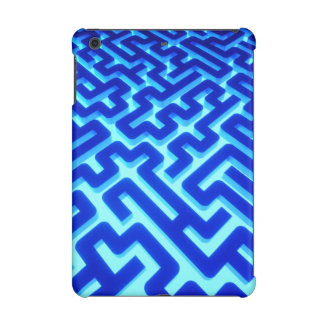 Maze Blue iPad Mini Retina Cases