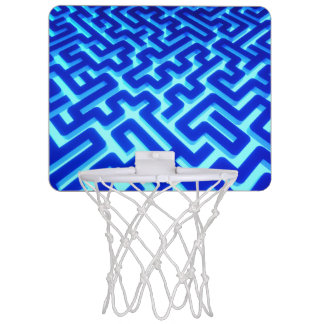 Maze Blue Mini Basketball Hoop