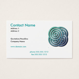 Maze Business Card