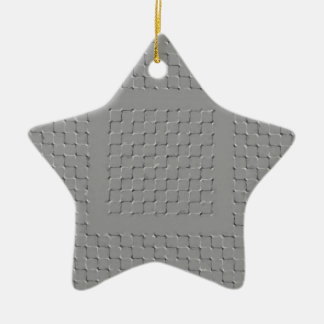 maze ceramic ornament