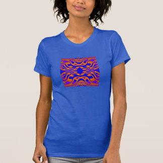 Maze Fashion Shirt - Women- Orange/Purple/Blue