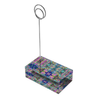 Maze of colors table card holder
