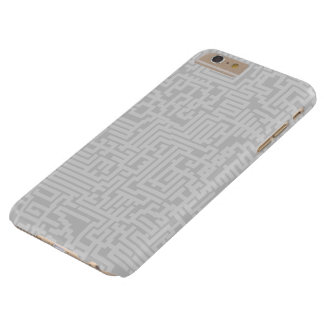 Maze Pattern iPhone Case - Shades of Grey