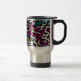Mazed and Confused Travel Mug