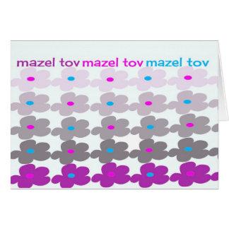 Mazel Tov (Flowers #2) Card