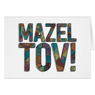 Mazel Tov Patchwork Multi Card
