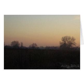 Mazovian Landscapes 2 Card