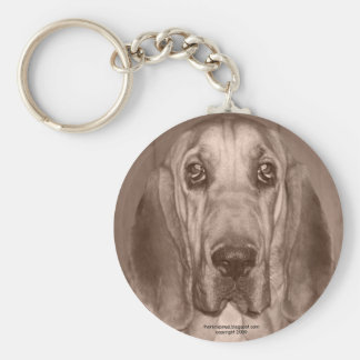 Mazy the Bloodhound by thoriinspired Keychain