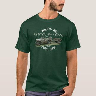 MB GPW Respect Your Elders - Men's Dark T-Shirt