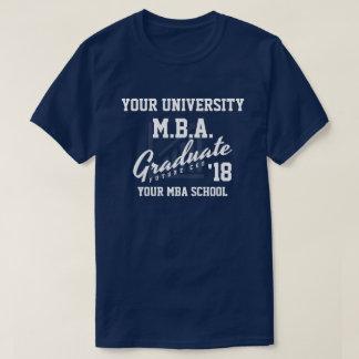 MBA Business School Graduation Customizable Shirt