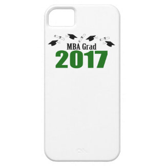 MBA Grad 2017 Caps And Diplomas (Green) iPhone 5 Cover