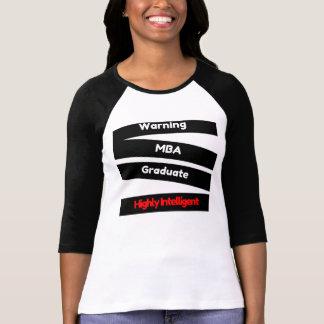 MBA Graduate Tshirt