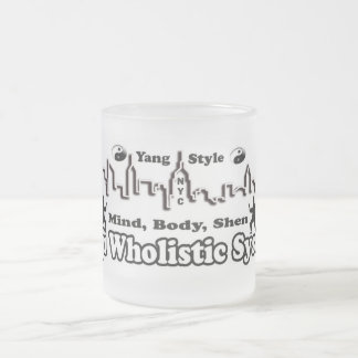 mbs-cup frosted glass coffee mug