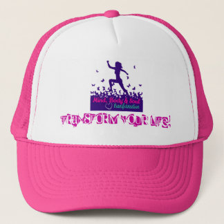 MBST Pink Trucker Hat- Transform Your Life! Trucker Hat