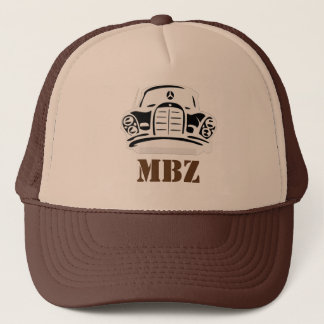 MBZ Hat Brown Stencil