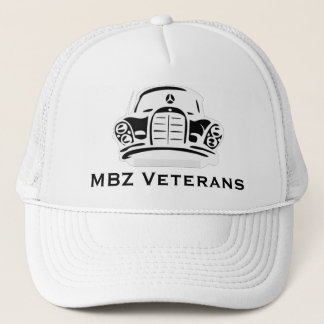 MBZ Veterans Hat White Pro