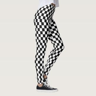 MC2 - Black and White Leggings