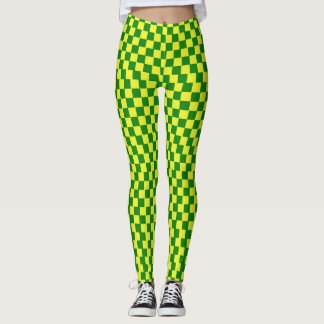 MC2 - Yellow and Green Leggings