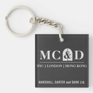 MC&D Ltd. keyholder [SCP Foundation] Double-Sided Square Acrylic Keychain