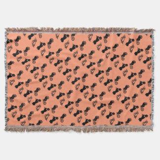 MC Pattern Throw Blanket