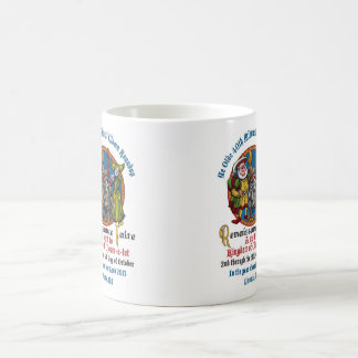MCA 40th Classic White Mug