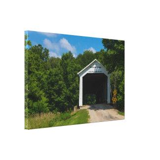 McAllister Bridge Canvas Print