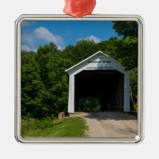 McAllister Bridge Metal Ornament